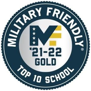 Military Friendly Gold Logo 21-22